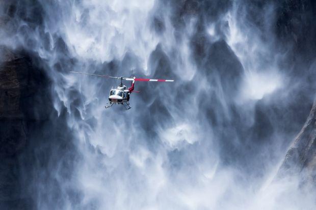 Kwikku, Helikopter
