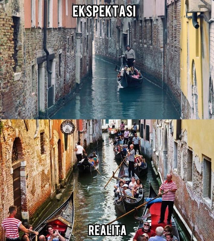 Kwikku, Venesia