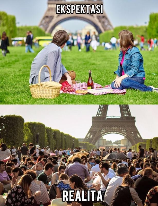Kwikku, Menara Eiffel  Paris