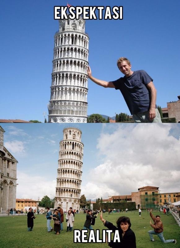 Kwikku, Menara Miring Pisa