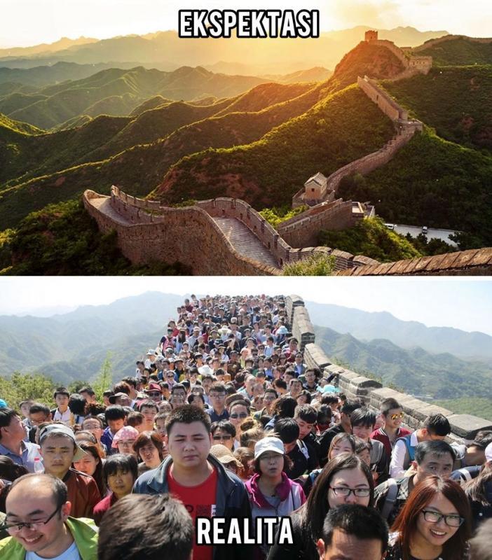 Kwikku, Tembok Besar Cina