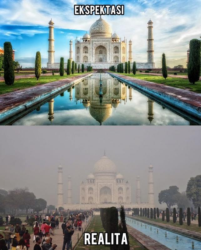 Kwikku, Taj Mahal  India