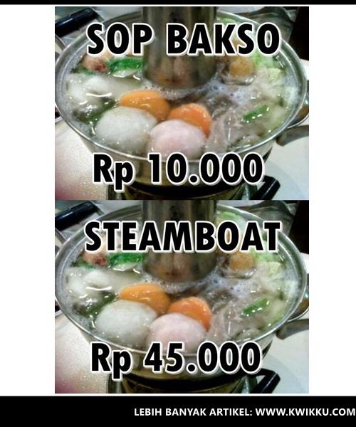Kwikku, Sop Bakso  Steamboat