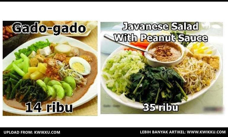 Kwikku, GadoGado  Javanese Salad with Peanut Sauce