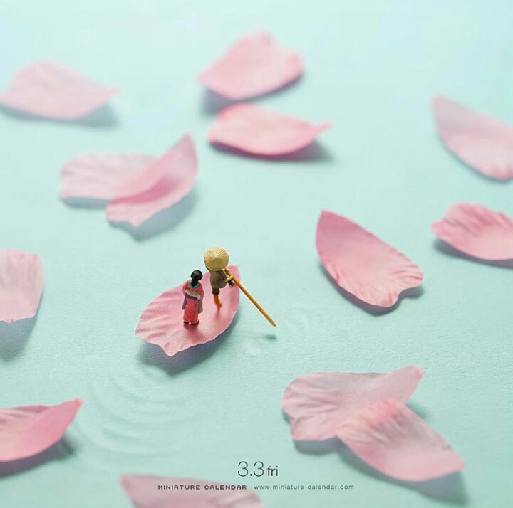 Kwikku, Kelopak Bunga jadi Perahu