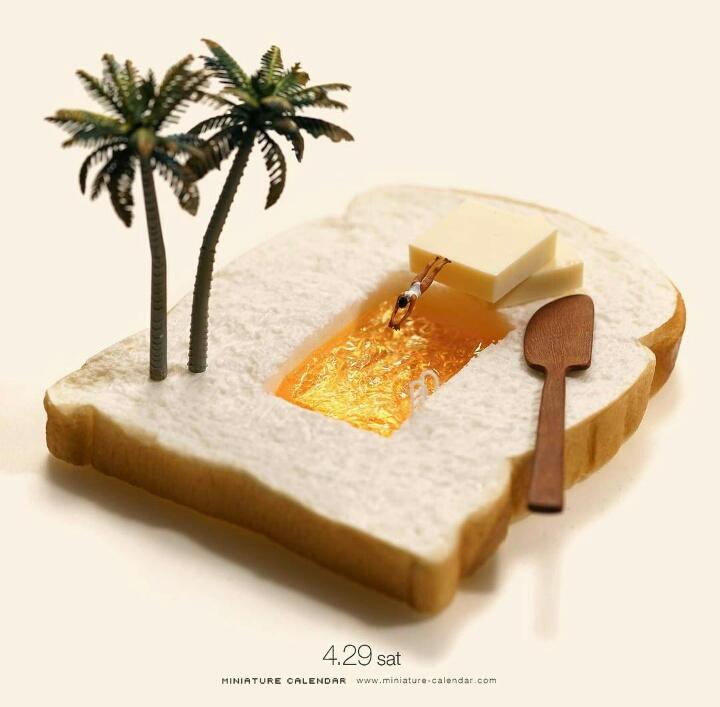 Kwikku, Roti menjadi Kolam Renang