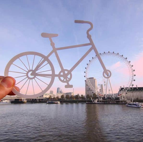 Kwikku, Sepeda dan Farris Wheel