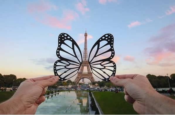 Kwikku, KupuKupu dan Menara Eiffel
