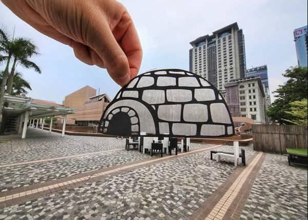 Kwikku, Rumah Es dan Dome
