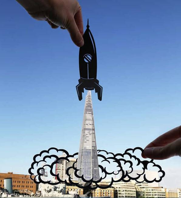 Kwikku, Roket dan Gedung Pencakar Langit