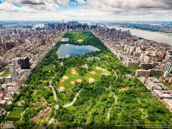 Kwikku, Central Park  Southern View karya Antonio Lopez