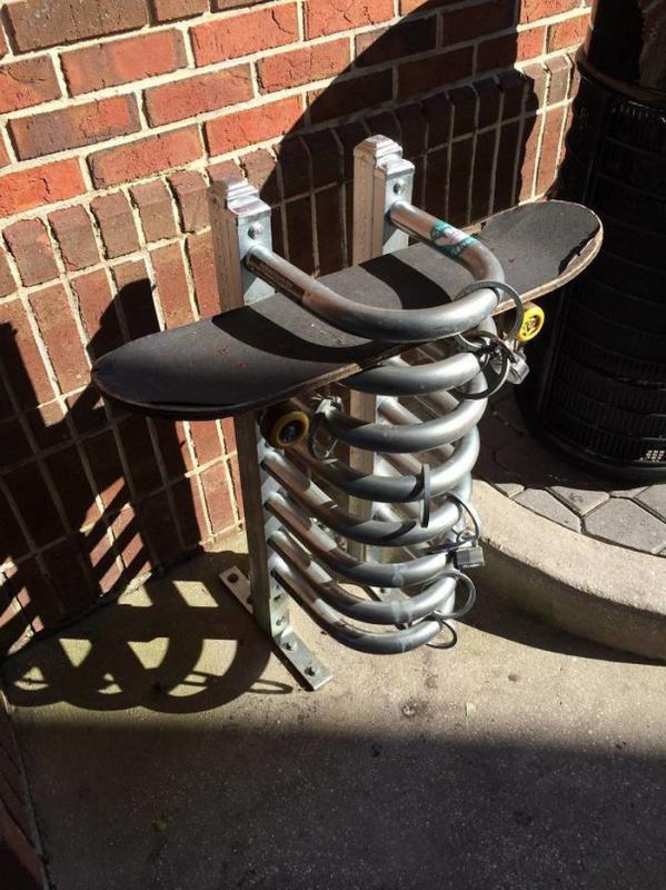 Kwikku, Parkir Skateboard