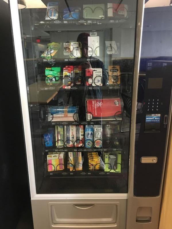 Kwikku, Vending Machine