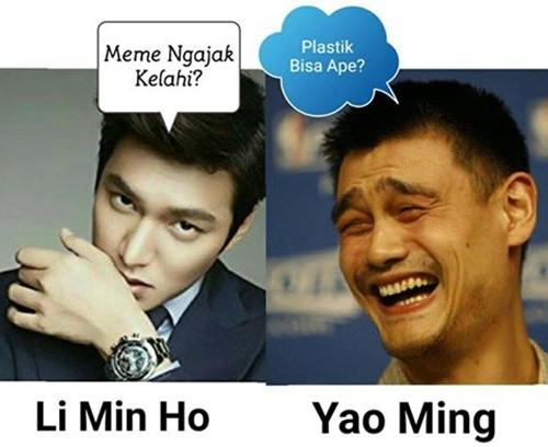 Kwikku, Li Min Ho vs Yao Ming