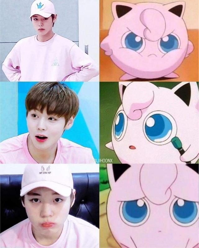 Kwikku, Park Ji Hoon  Wanna One  Jigglypuff