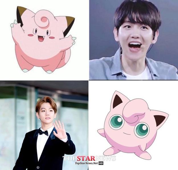 Kwikku, Baek Hyun  EXO  Clefairy