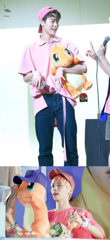 Kwikku, Moon Bin  ASTRO amp Jong Hyun  SHINee  Charmander