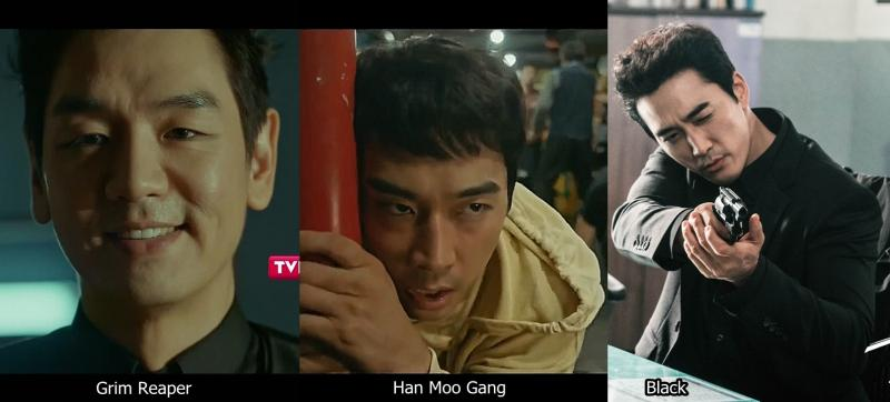 Kwikku, Song Seung Heon  Black