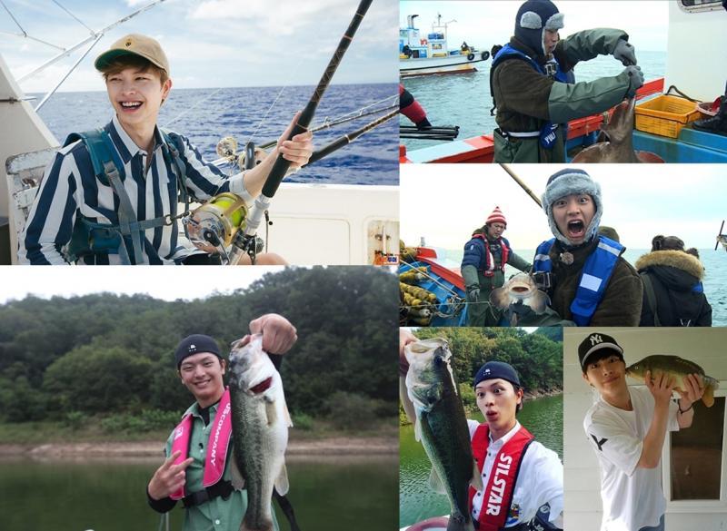 Kwikku, Yook Sung Jae BTOB memancing