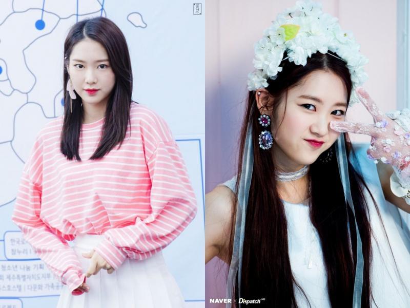 Kwikku, Ji Ho Oh My Girl mengscreenshot jam dan menit yang sama