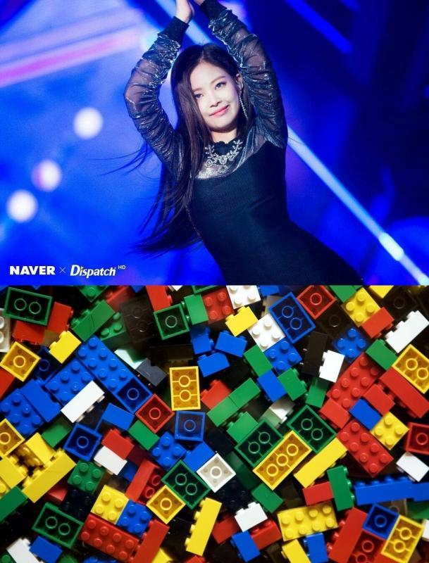 Kwikku, BLACKPINK Jennie Bermain Lego