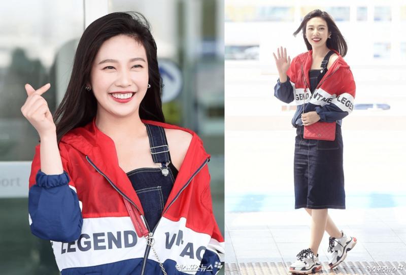 Kwikku, Red Velvet Joy dalam balutan busana street style yang trendi
