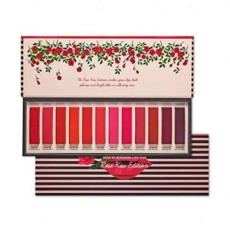 Kwikku, Etude House Blooming Lips Talk  Rose Kiss Edition