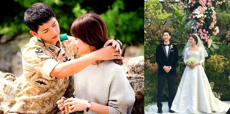 Kwikku, Song Hye Kyo dan Song Joong Ki