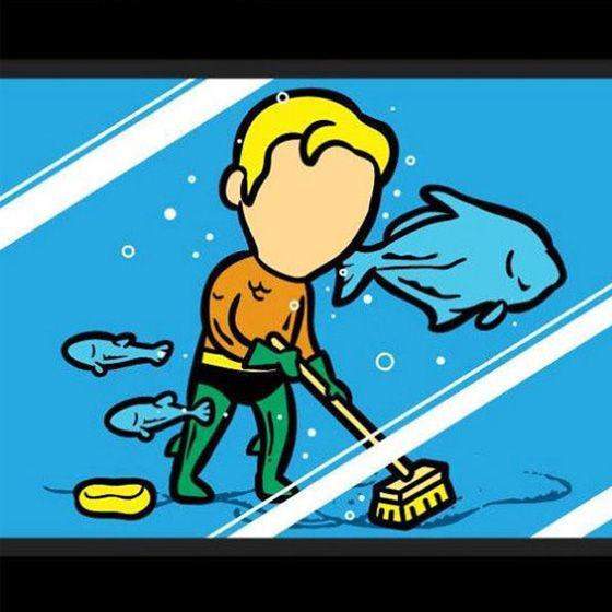 Kwikku, Aquaman