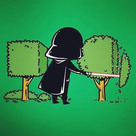 Kwikku, Darth Vader