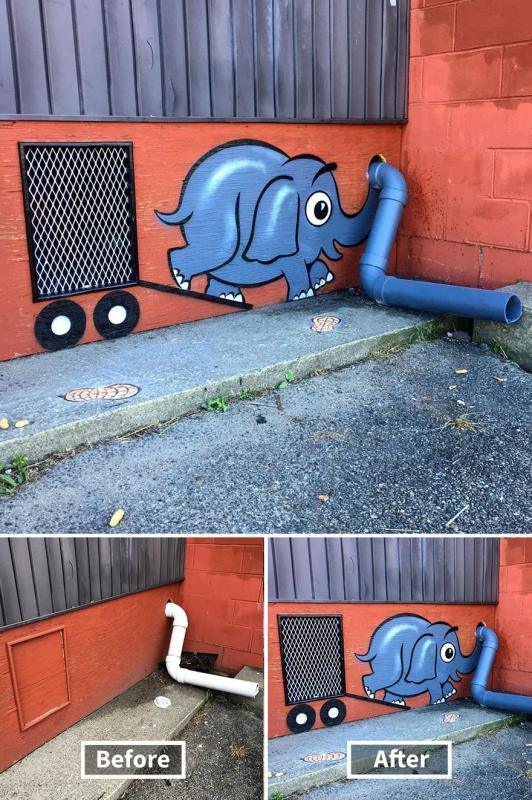 Kwikku, Gajah