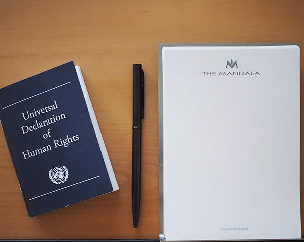 Kwikku, Ada deklarasi Hak Asasi Manusia
