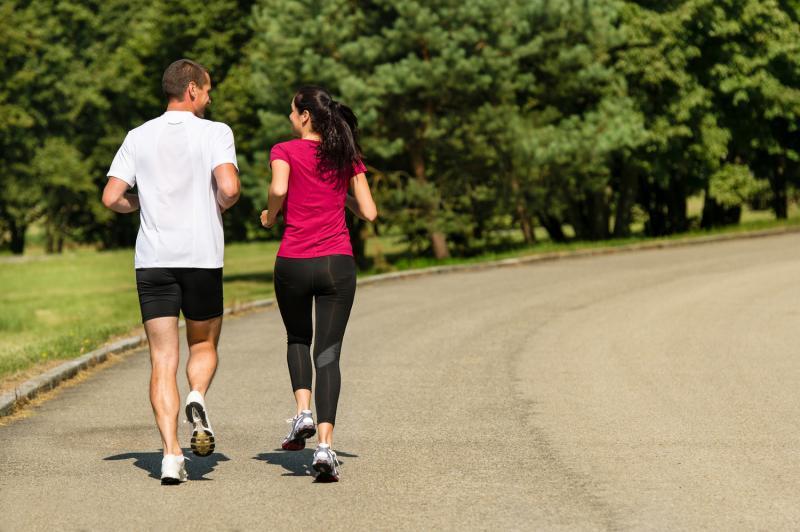 Kwikku, Jogging berdua keliling taman