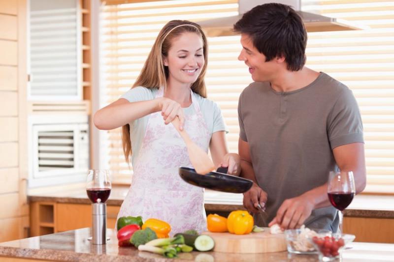 Kwikku, Belajar masak bareng si dia