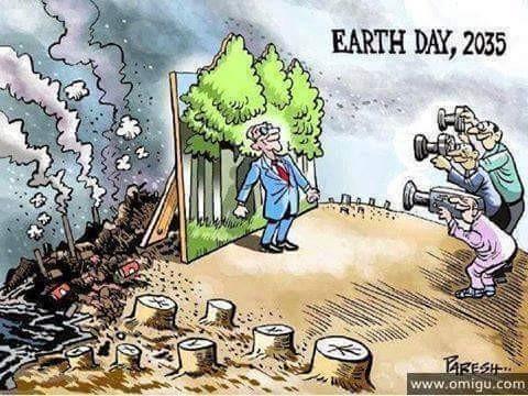 Kwikku, Selamat hari bumi Bumi yang semakin tua dan renta
