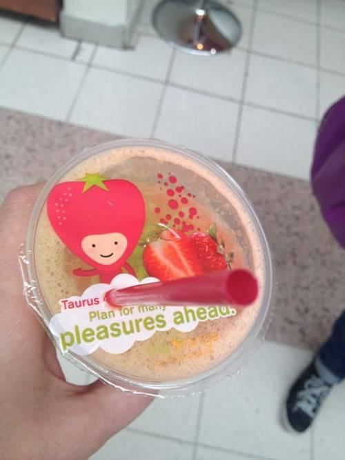 Kwikku, Ini hanya jus strawberi kok tapi apa yang kamu pikirkan saat pertama kali melihat Pasti yang itu ngaku aja deh
