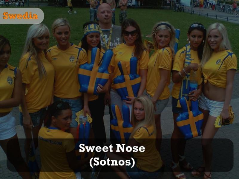 Kwikku, Di Swedia malah panggil Sweety Nose untuk ungkapkan rasa sayang