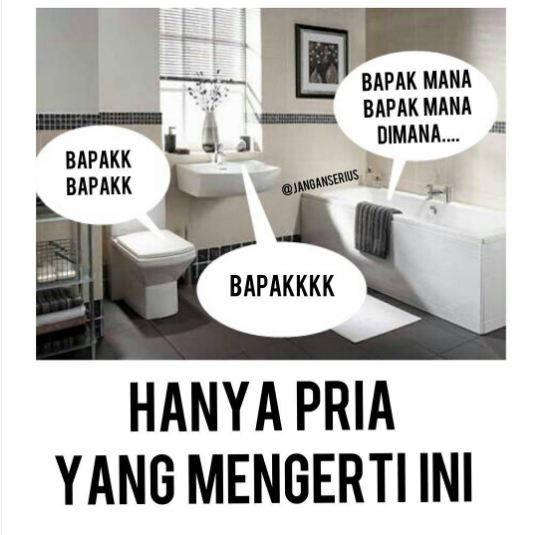 Kwikku, Kirakira apa hubungannya toilet sama bapak Yang cowok paham kok maksudnya apa