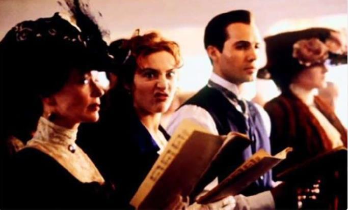 Kwikku, Ekspresi lucu Rose aka Kate Winslet di selasela syuting