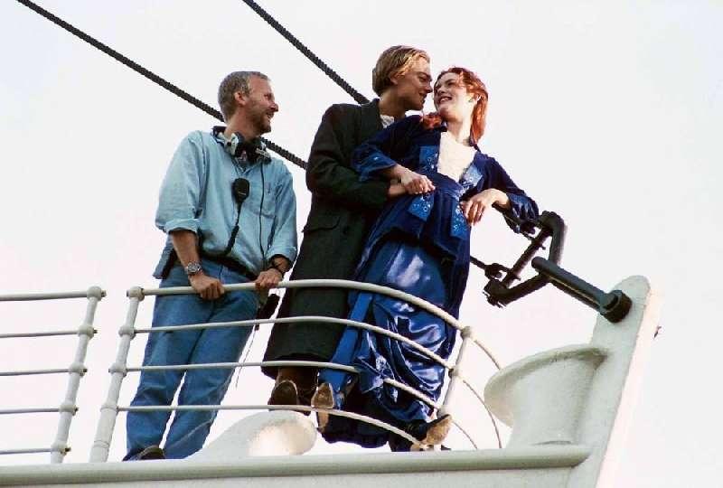 Kwikku, Adegan romantis Jack dan Rose Masih inget yang ini
