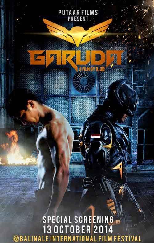 Kwikku, Garuda Superhero