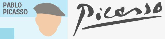 Kwikku, Beda cerita sama tanda tangannya pelukis Font tanda tangan aja diperhatikan seperti Pablo Picasso