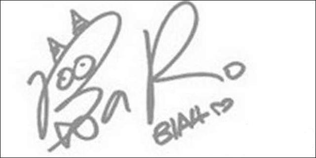 Kwikku, Lucu Tapi ini ternyata tanda tangan salah satu personel boyband asal Korea lho