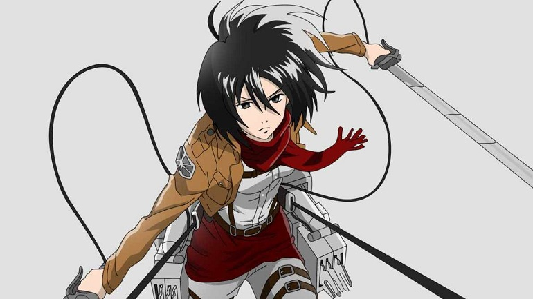 Kwikku, Mikasa Ackerman Attack on Titan