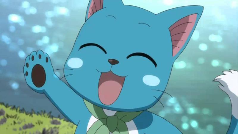 Kwikku, Happy Fairy Tail