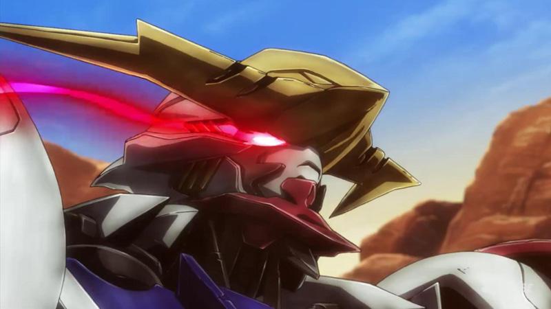 Kwikku, Mikazuki Augus  Gundam Barbatos Without Limiter