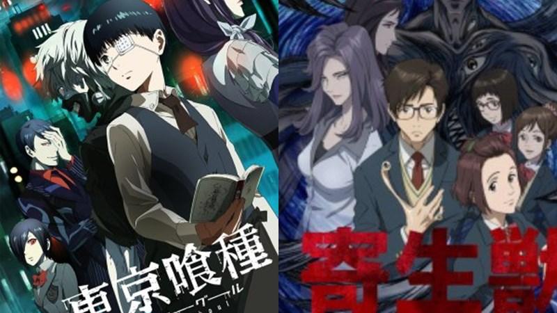 Kwikku, Tokyo Ghoul dan Parasyte
