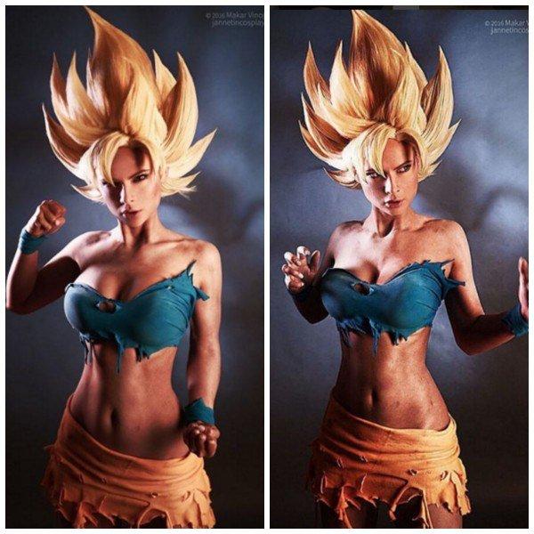 Kwikku, Son Goku versi cewek