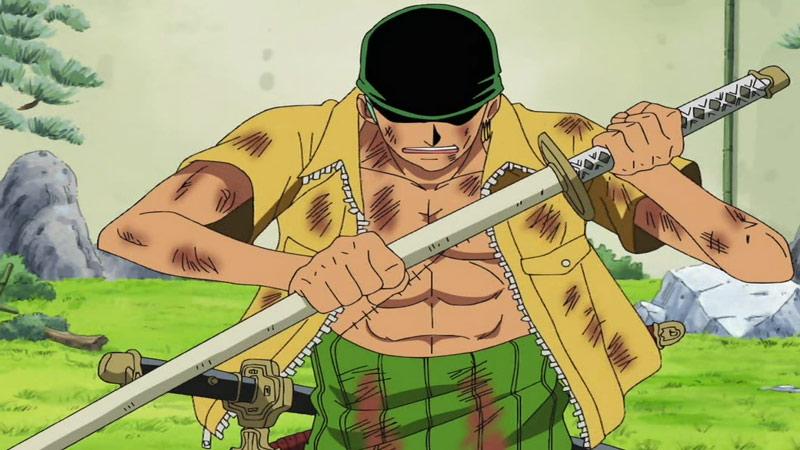 Kwikku, Pedang favorit Zoro