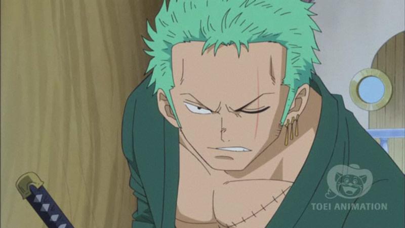 Kwikku, Letak luka sama dengan Luffy